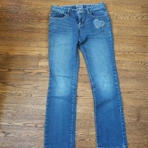 Old Navy Bottoms - 4 pairs of Skinny Blue & Black Jean's for Girls
